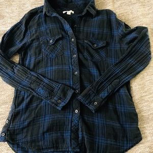 Beachlunchlounge Flannel Top